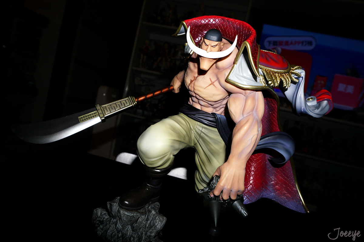 One Piece POP Maximum White beard Anime Garage Kits Dolls-Garage Kit Dolls