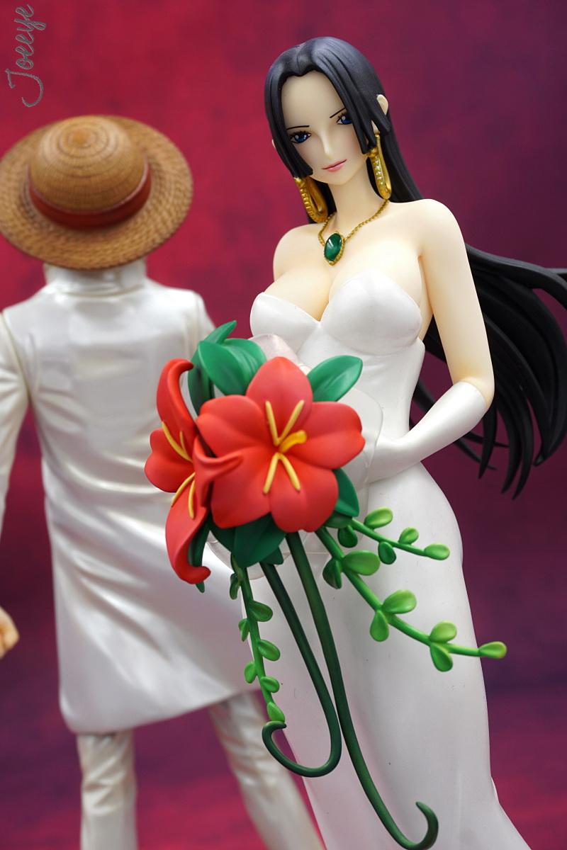 One Piece Boa Hancock Wedding Ver.Dress Figure Statue 1266-Garage Kit Dolls