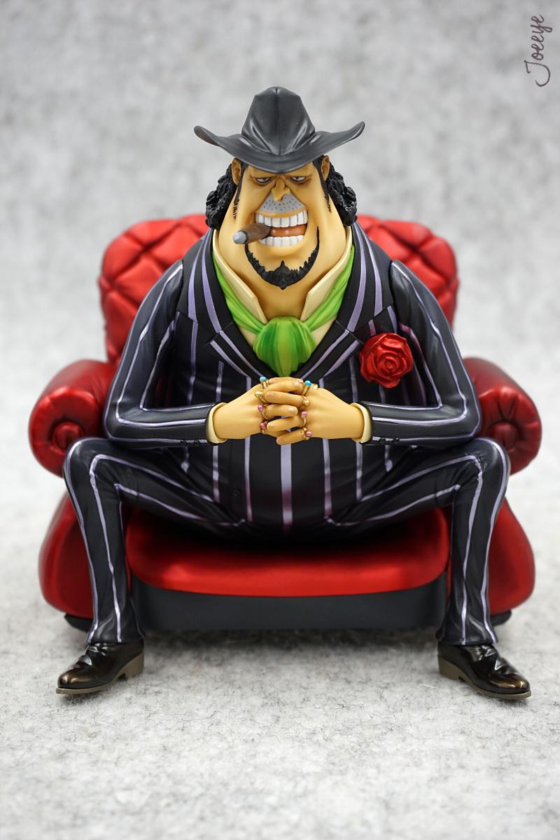One Piece MegaHouse POP SOC Capone Bege Garage Kits resin Figure Models 1255-Garage Kit Dolls