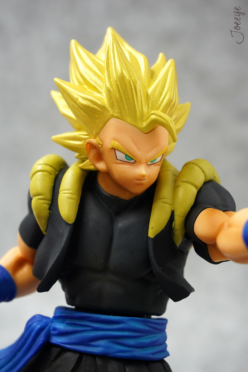 Banpresto DRAGON BALL DXF Vol.3 Gogeta XENO Garage Kits resin Figure Models-Garage Kit Dolls