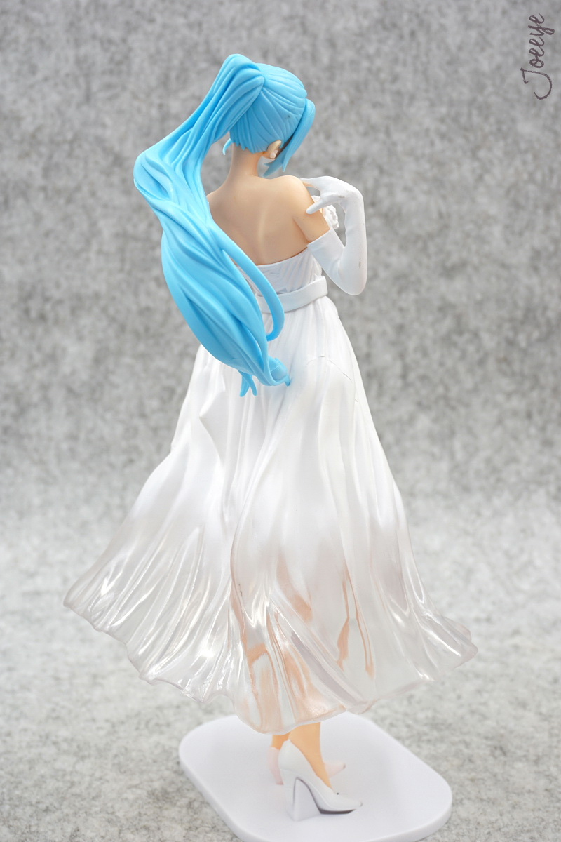 Banpresto One Piece Lady Edge: Wedding Nefeltari Vivi white Garage Kits resin Figure Models-Garage Kit Dolls