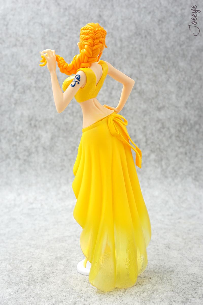 Banpresto One Piece Lady Edge: Wedding Nami Yellow Garage Kits resin Figure Models 1248-Garage Kit Dolls