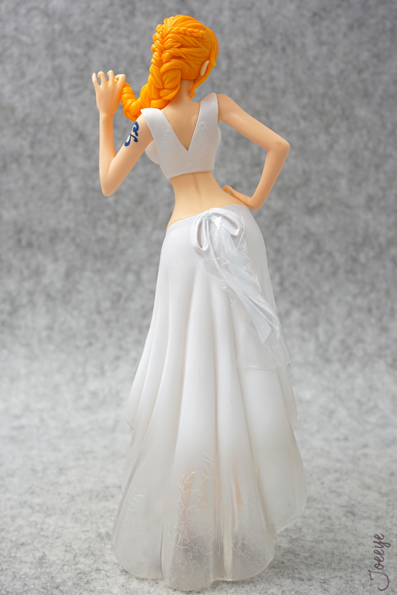 Banpresto One Piece Lady Edge: Wedding Nami White Garage Kits resin Figure Models-Garage Kit Dolls