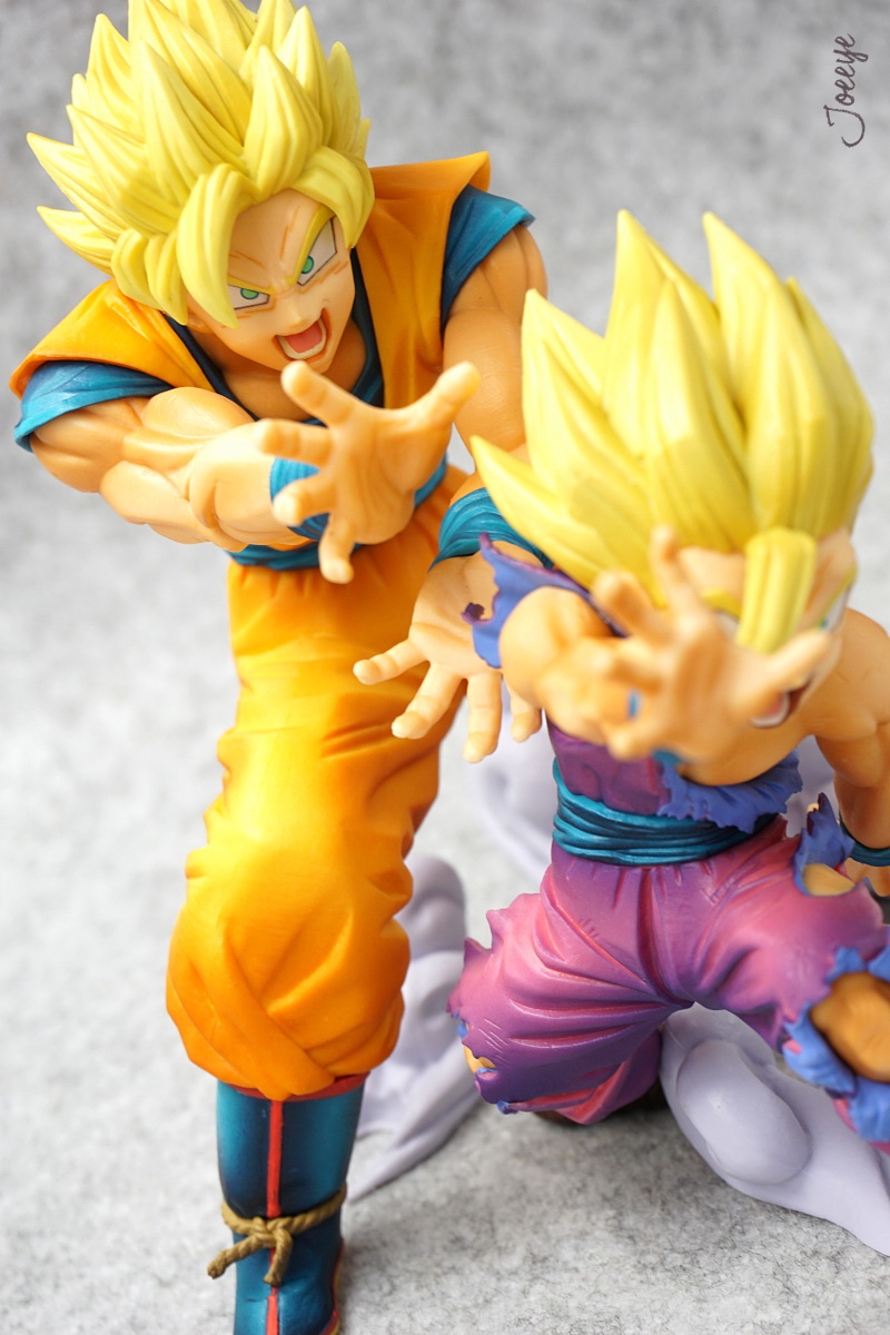 Banpresto DRAGON BALL VS EXISTENCE Kakarotto&Son Gohan Garage Kit Model 1235-Garage Kit Dolls