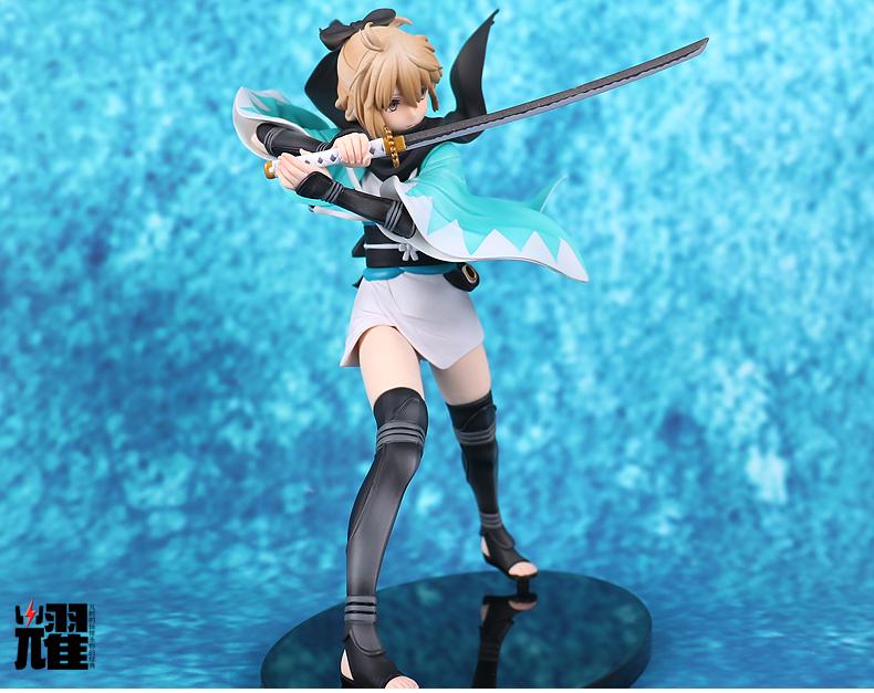 Fate/EXTRA Sabe Action Figure Toys Anime Garage Kits Dolls-Garage Kit Dolls