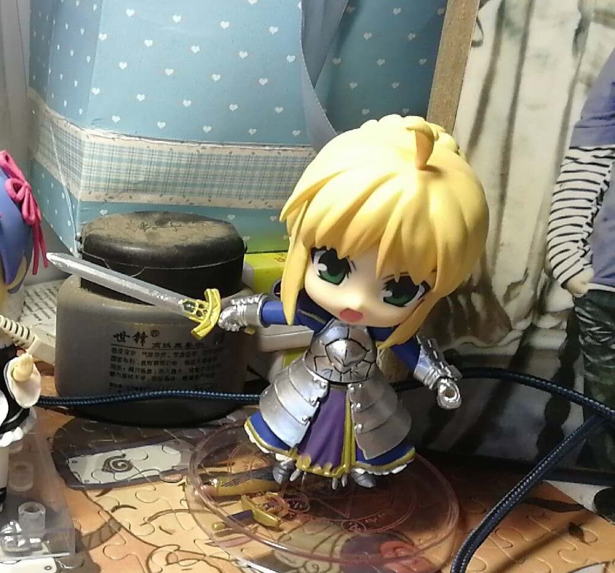 Fate/EXTRA saber Tōsaka Rin Wedding dress Anime Garage Kits Dolls Figure Statue-Garage Kit Dolls