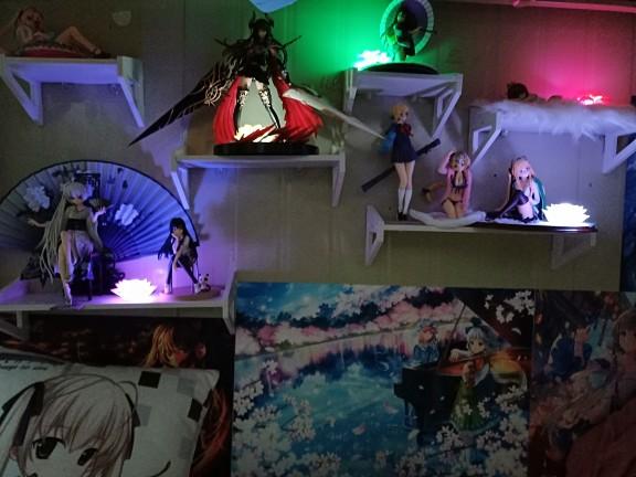 Fate/EXTRA saber Sailor suit/Uniforms Anime Garage Kit Figure Statue-Garage Kit Dolls