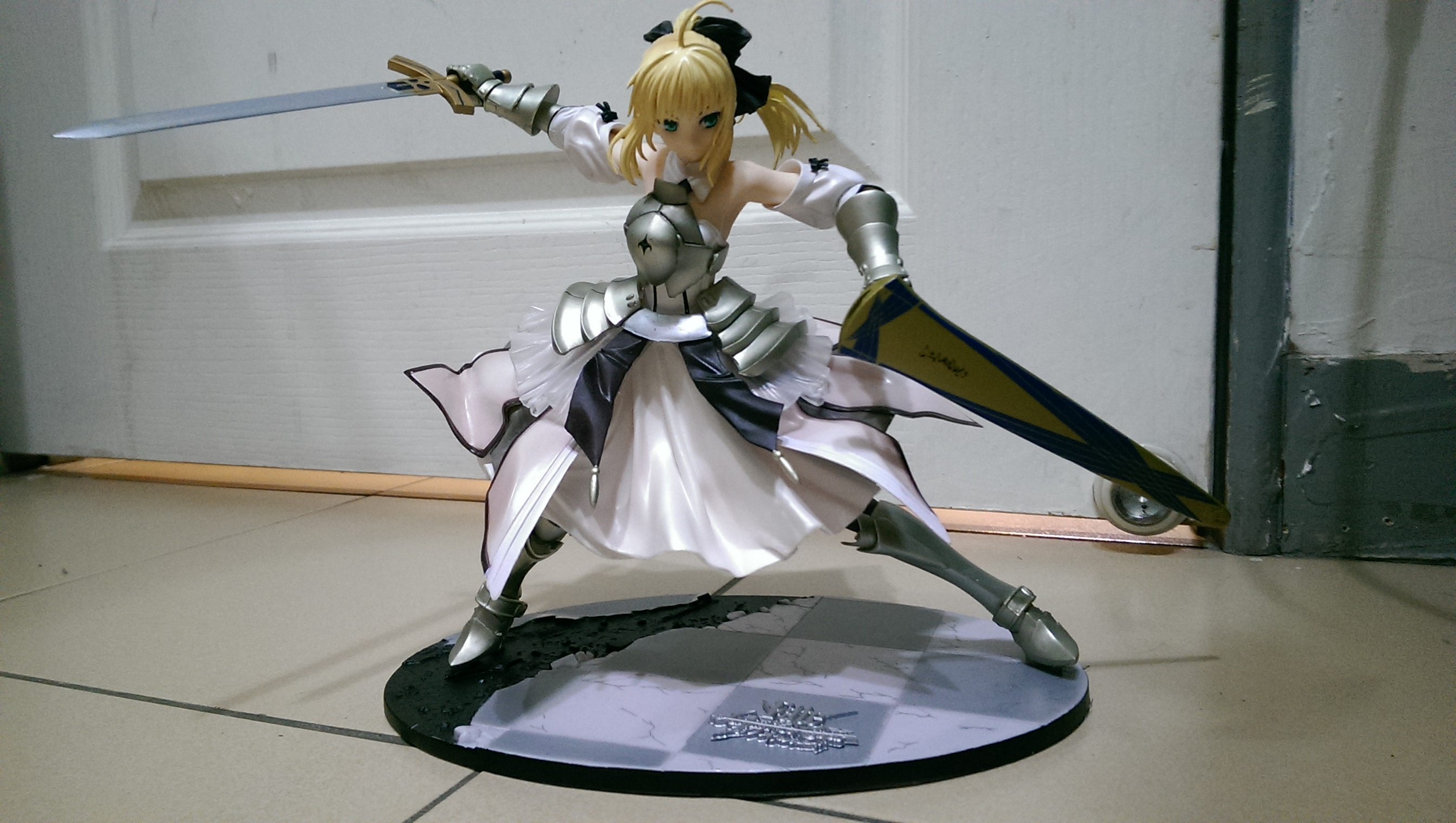 Fate/EXTRA Saber Lily Anime Garage Kits Dolls  Figure Statue-Garage Kit Dolls