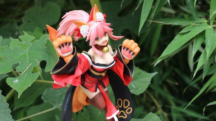Fate/EXTRA fgo Tamamo-no-mae Action Figure Toys Figure Statue-Garage Kit Dolls