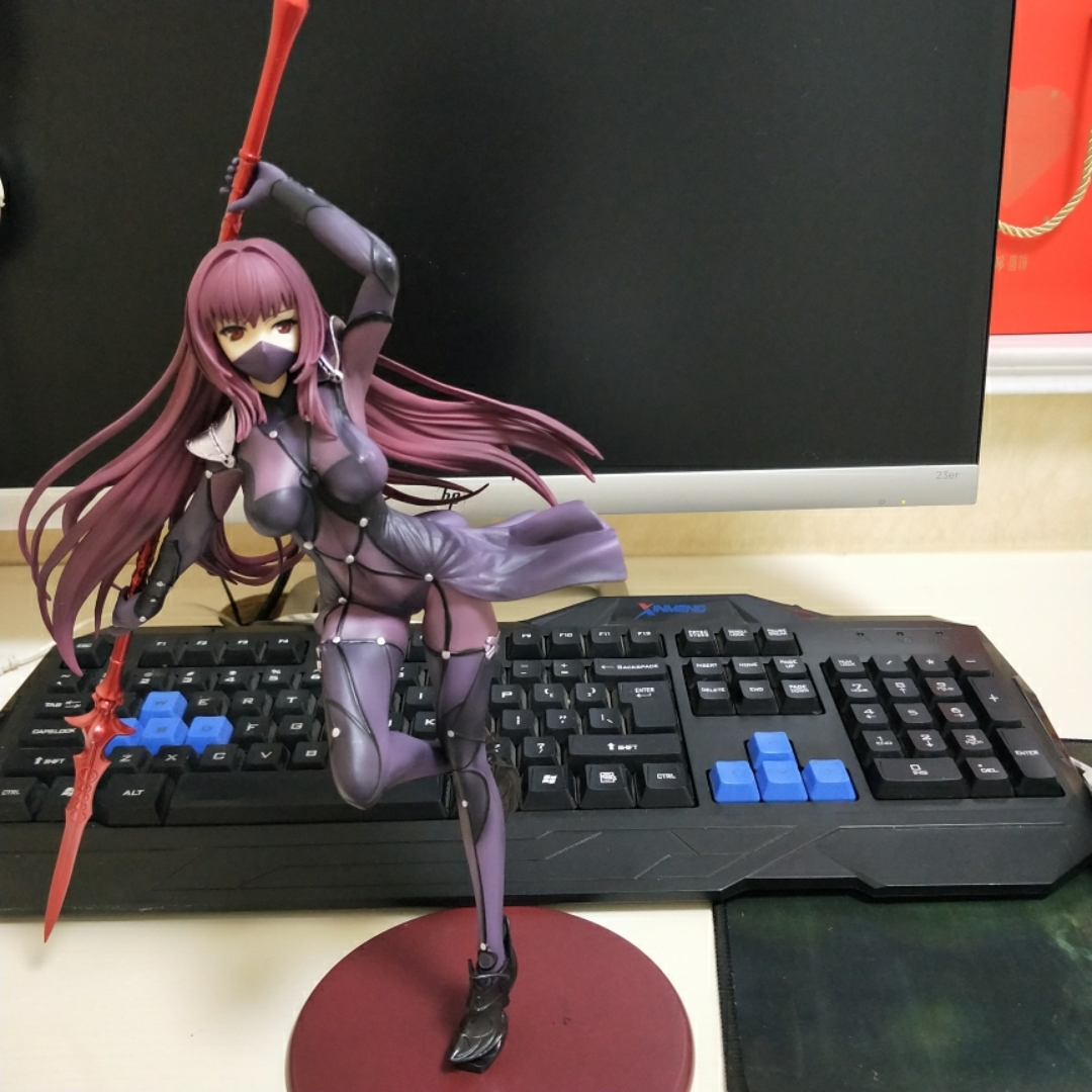 Fate/EXTRA saber Servant Scathach Anime Garage Kits Dolls Figure Statue-Garage Kit Dolls