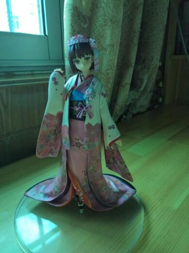 Saekano:How to Raise a Boring Girlfriend Megumi Kato Kimono Garage Kits Dolls-Garage Kit Dolls