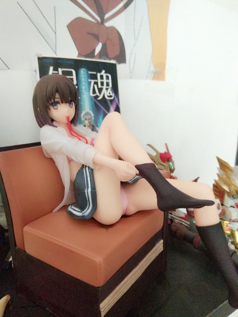 Saekano:How to Raise a Boring Girlfriend Megumi Kato Sofa Garage Kits Dolls Figure Statue-Garage Kit Dolls
