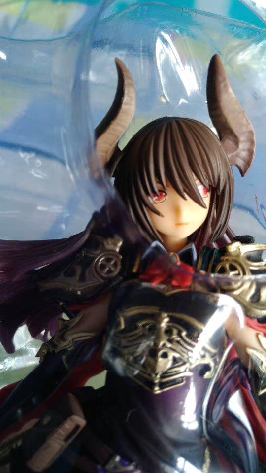 Rage of Bahamut Dark Dragon Rider Action Figure Toys Figure Statue-Garage Kit Dolls