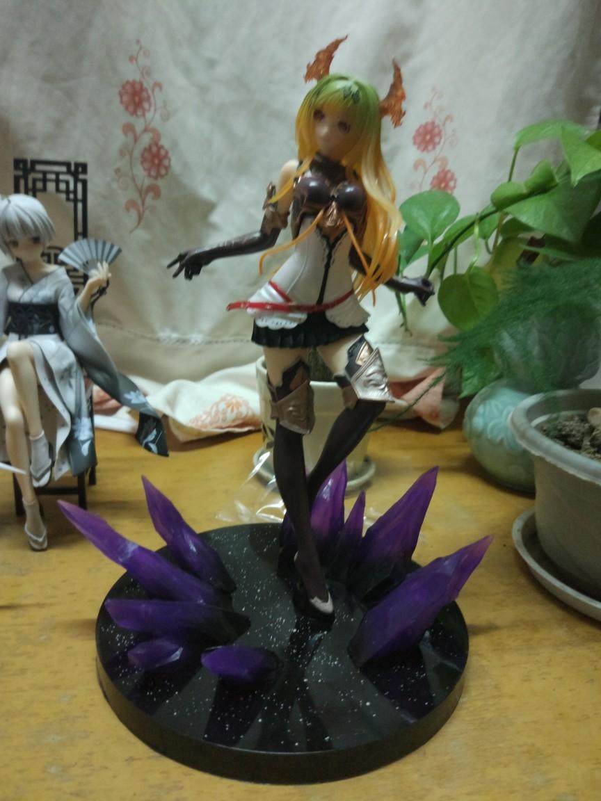 Rage of Bahamut Dark Dragon Rider Anime Garage Kits Dolls Figure Statue-Garage Kit Dolls