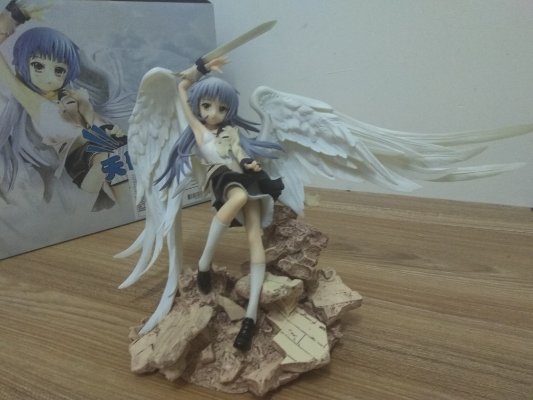 Angel Beats! Tachibana Kanade Anime Garage Kits Dolls Figure Statue-Garage Kit Dolls