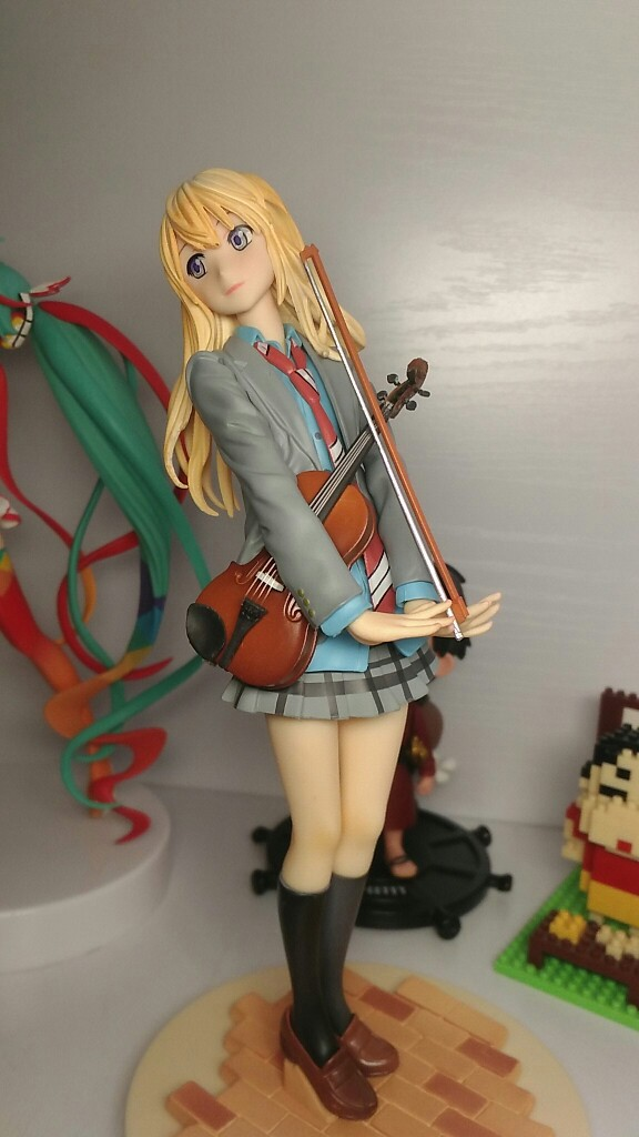 Your Lie in April Miyazono Kaori Anime Garage Kits Dolls Figure Statue-Garage Kit Dolls