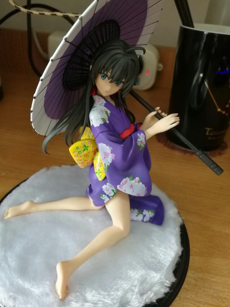 Yukinoshita Yukino kimono Anime Garage Kits Dolls Figure Statue-Garage Kit Dolls
