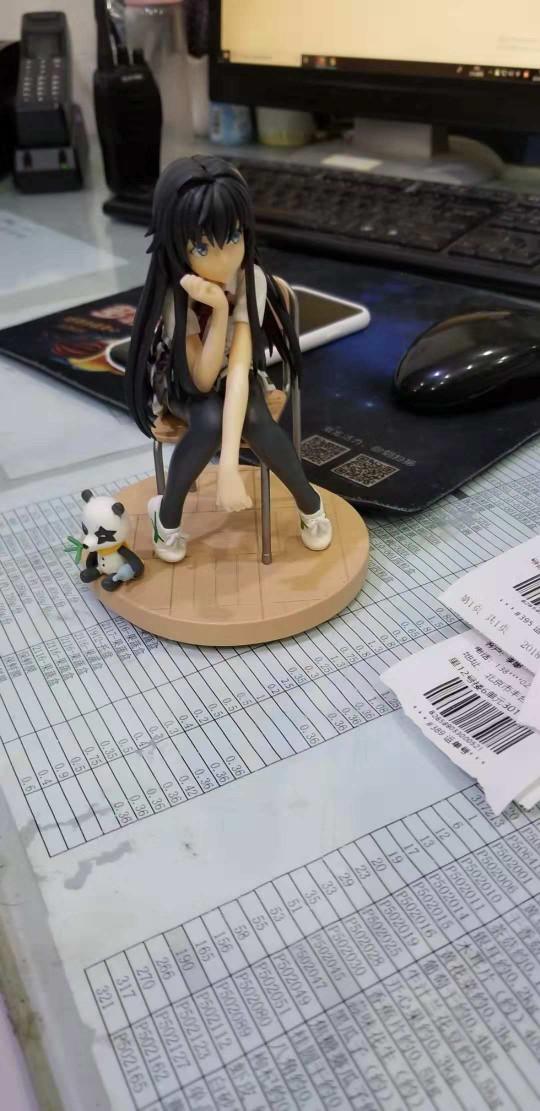 Yukinoshita Yukino Action Figure Toys Figure Statue-Garage Kit Dolls