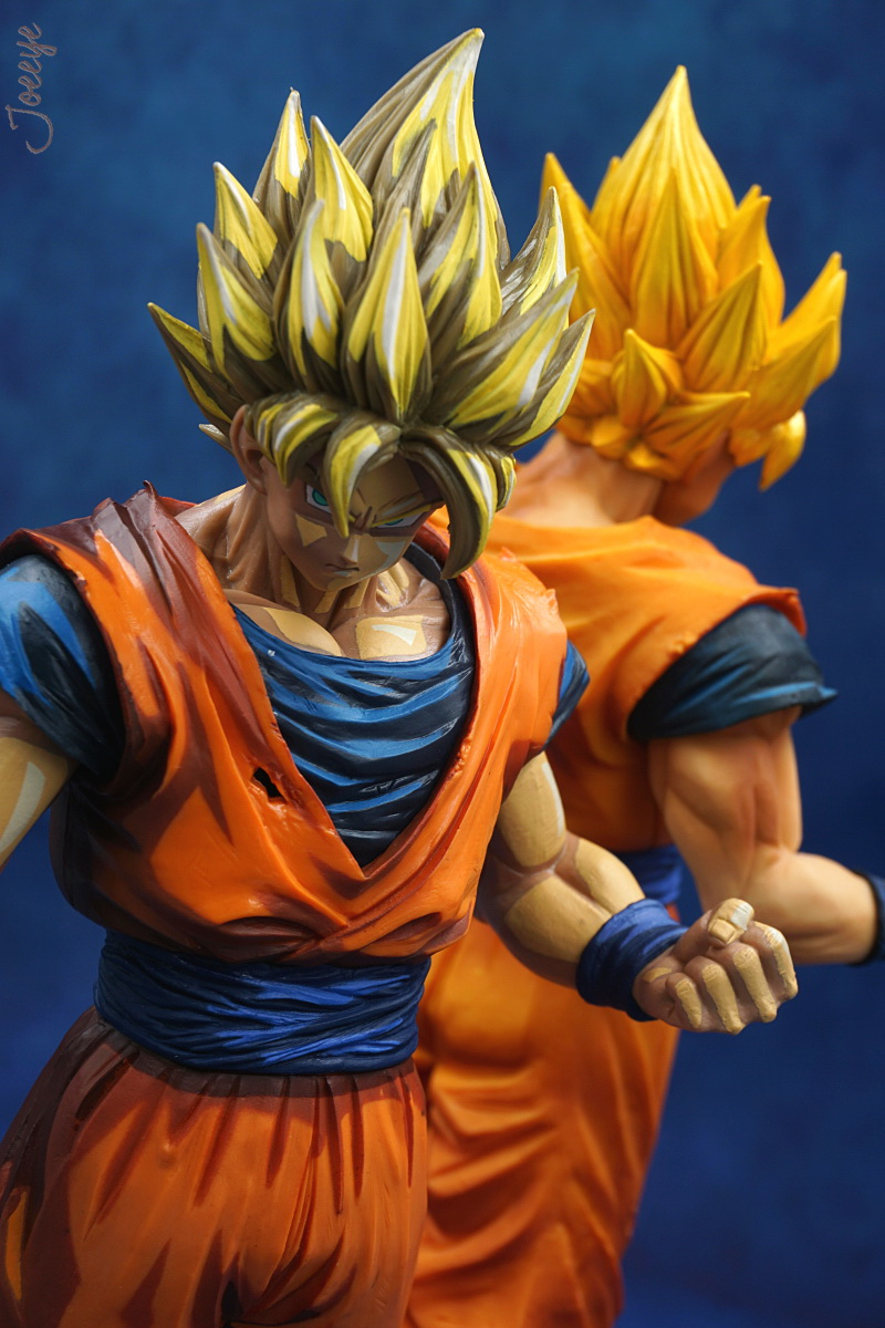 DRAGON BALL Resolution of Soldiers Garage Kit Rare Figurines-Garage Kit Dolls