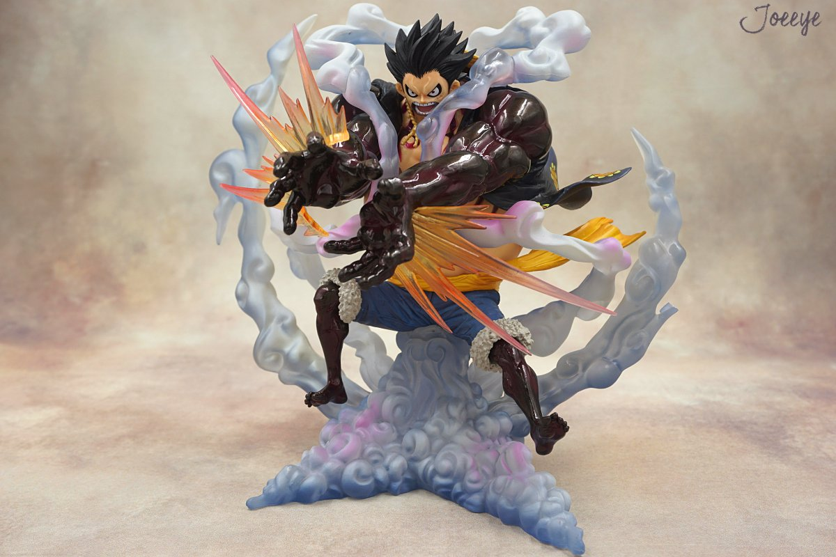 ZERO Extra Battle Monkey D. Luffy Scale model garage kit-Garage Kit Dolls