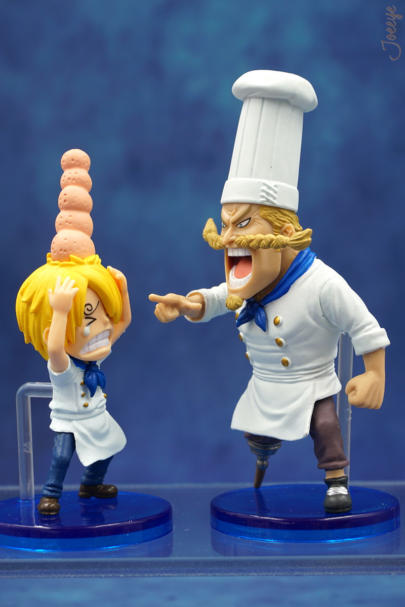 [2] One Piece WCF HISTORY OFSANJI collectible action figures-Garage Kit Dolls