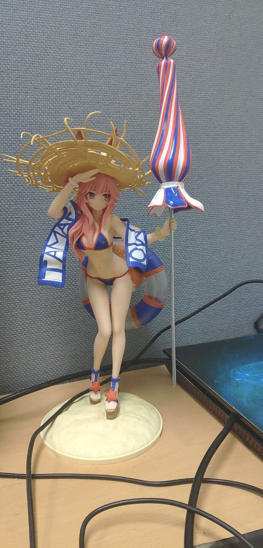 Fate/EXTRA Tamamonomae Bathing Suit Action Figure Toys Anime Garage Kits Dolls-Garage Kit Dolls