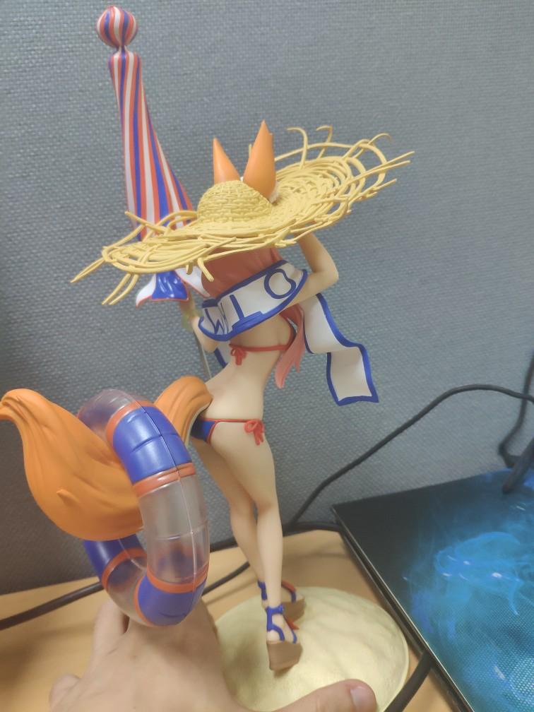 Fate/EXTRA Tamamonomae Bathing Suit Action Figure Toys Anime Garage Kits Dolls-Garage Kit Dolls