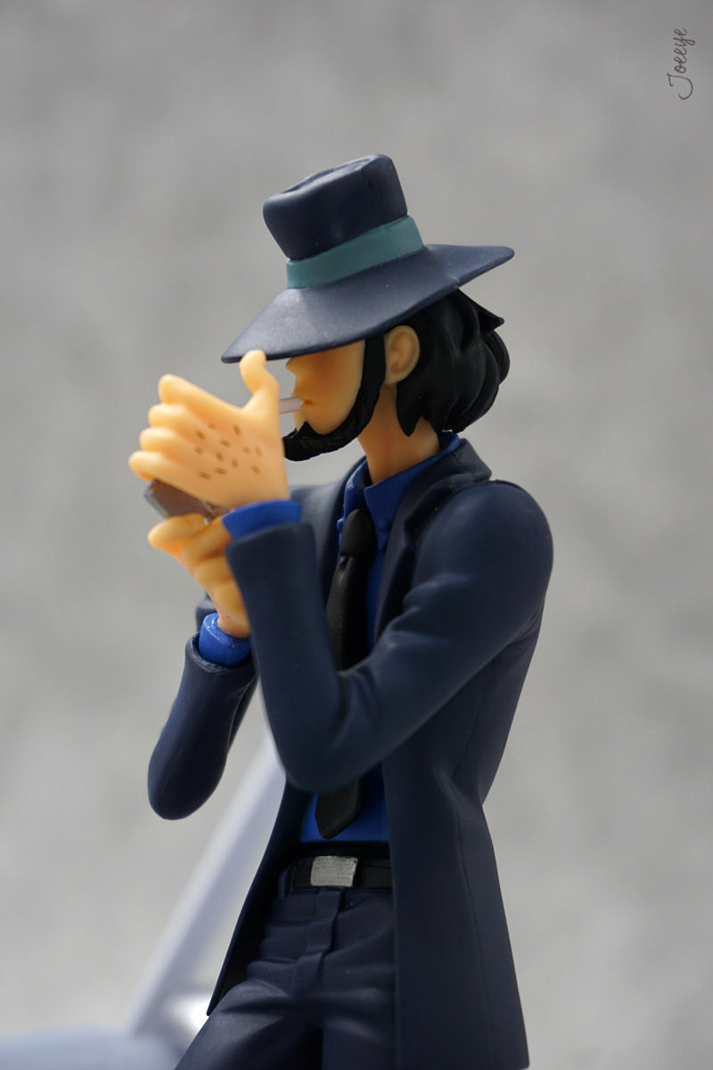 Banpresto Lupin III Garage Kit Model-Garage Kit Dolls