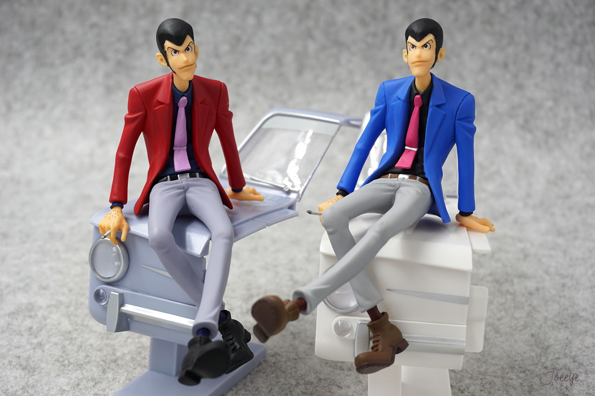 Banpresto Lupin III Red Garage Kits Resin Models-Garage Kit Dolls