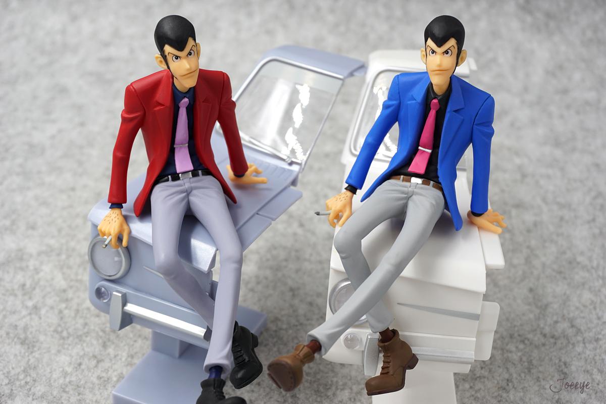 Banpresto Creator×Creator Lupin III Blue Garage Kits Resin Models-Garage Kit Dolls