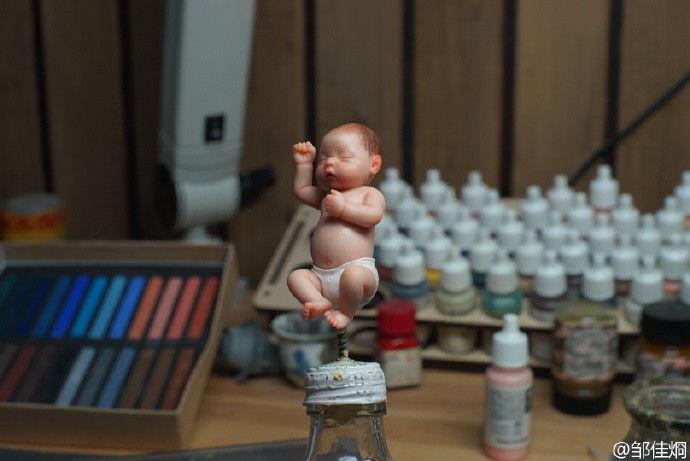 Super Lifelike Baby GK-Garage Kit Dolls