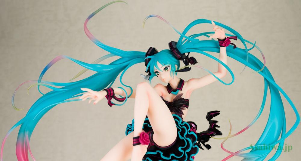 Max Factory Vocaloid 1/7 Hatsune Miku mebae Ver. Garage Kit Model-Garage Kit Dolls