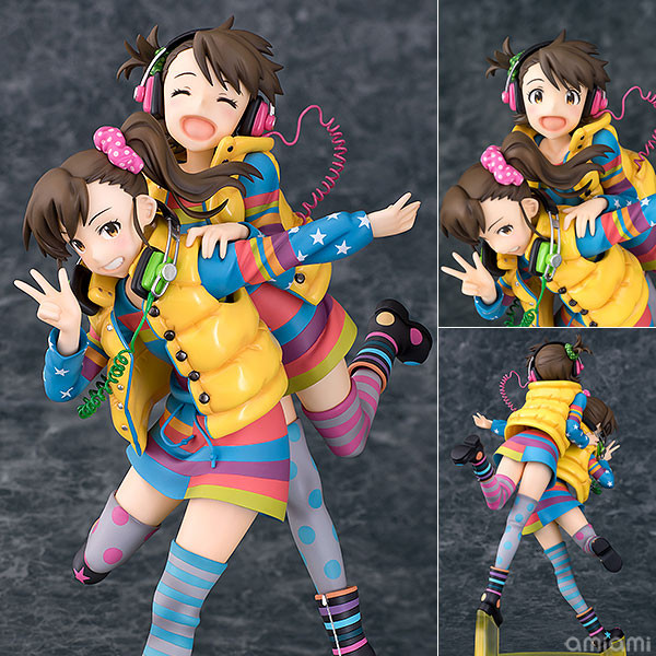 Wave Cinderella Girls 1/8 たかがき Garage Kit Model-Garage Kit Dolls
