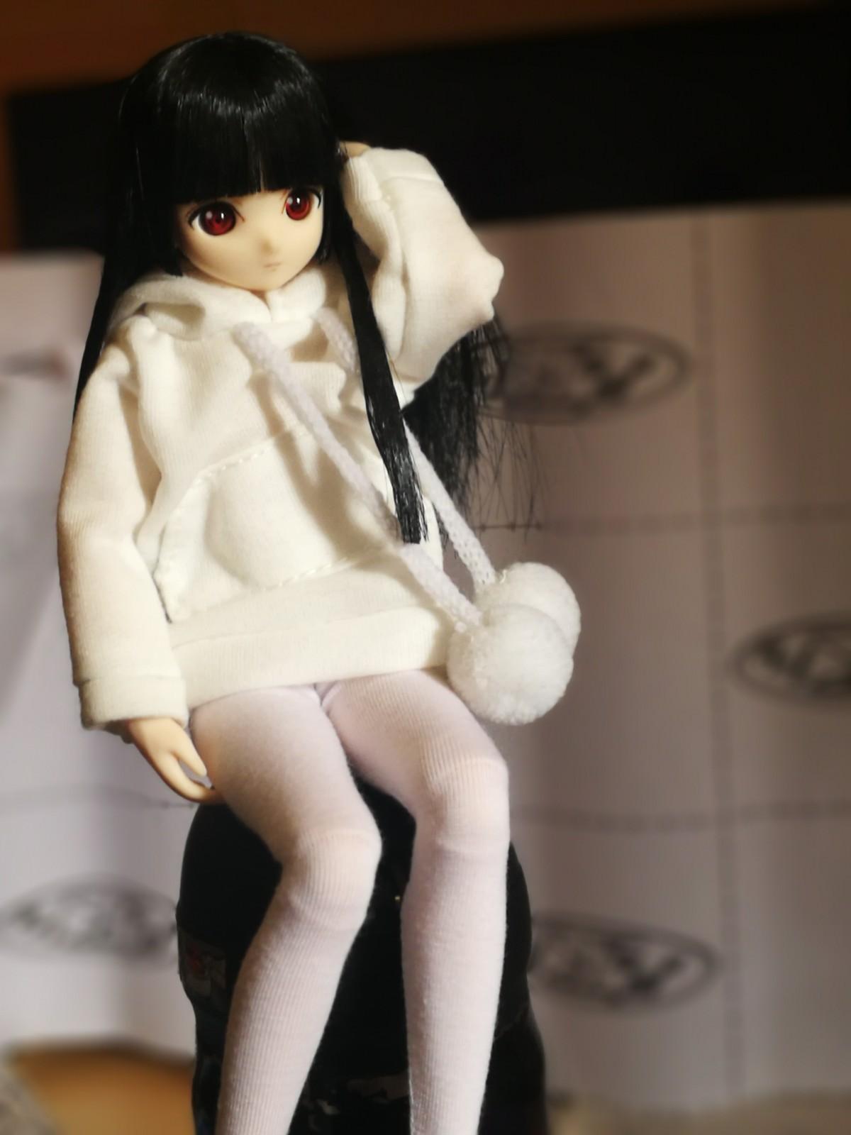 Hell Girl Xiaoga Yanmaai-Garage Kit Dolls