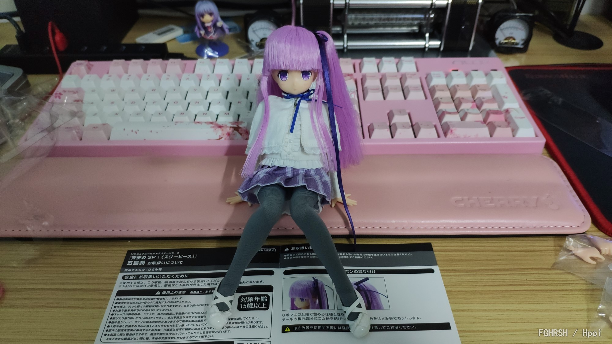 PureNeemo Character Series No. 104 Angel's 3P! Goto Jun-Garage Kit Dolls