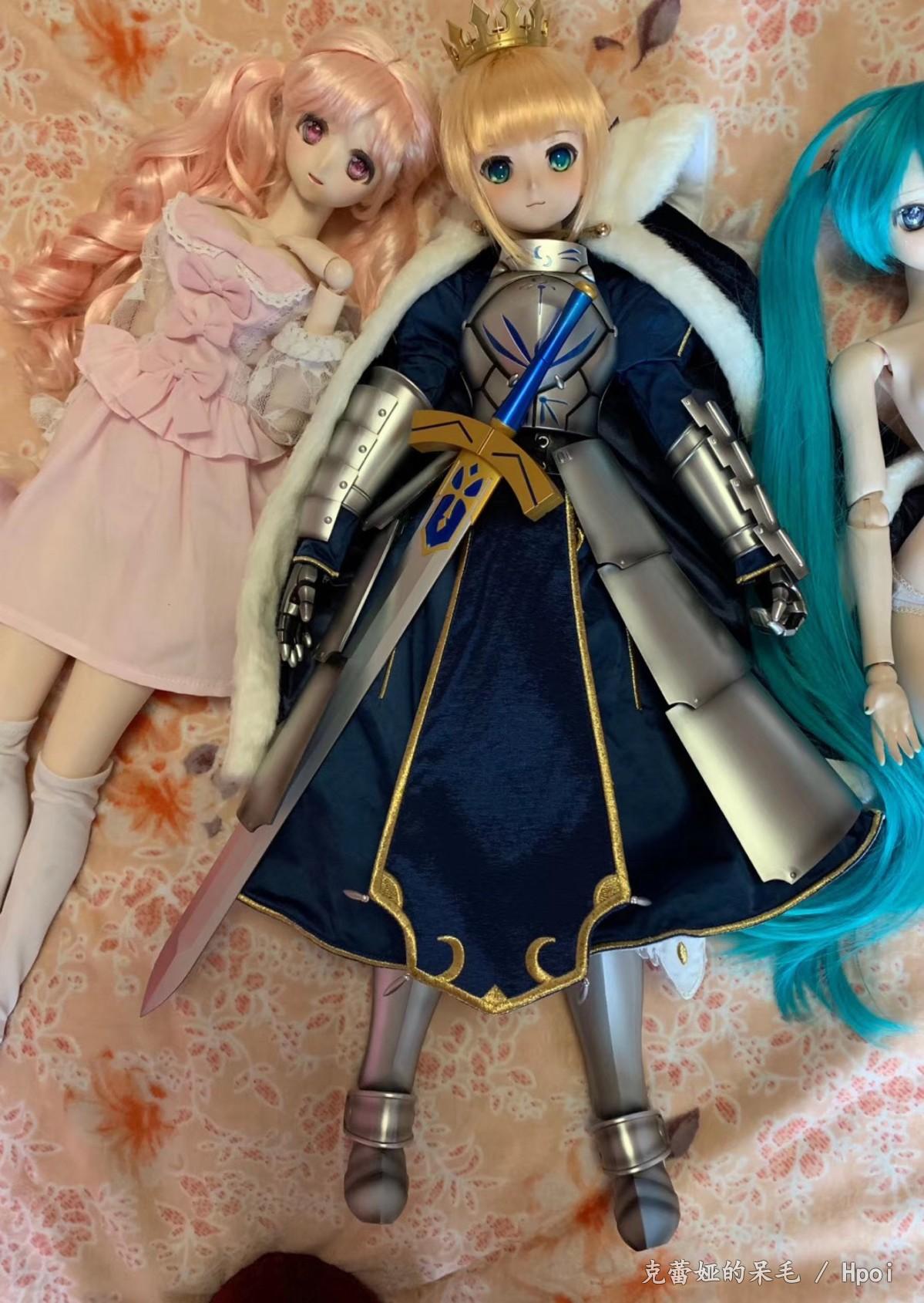 Dollfie Dream Fate/Grand Order Saber-Garage Kit Dolls