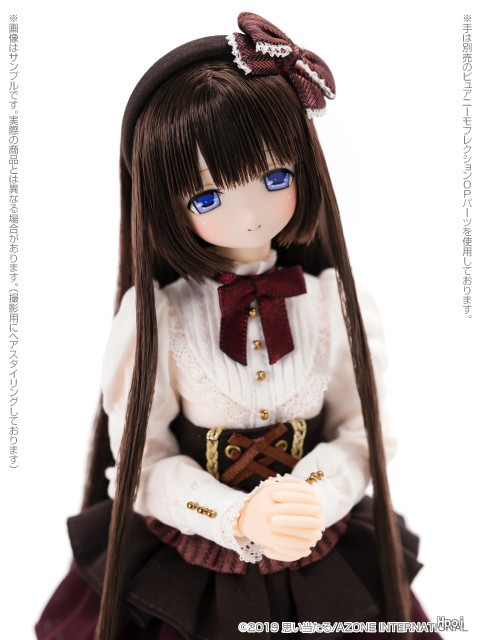 Ex☆Cute Family – PureNeemo – Mia Pink Sapphire Azone Direct Store ver.-Garage Kit Dolls