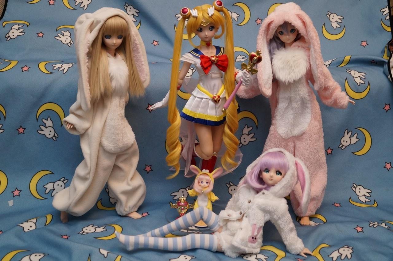 Dollfie Dream Sailor Moon Sailor Moon-Garage Kit Dolls