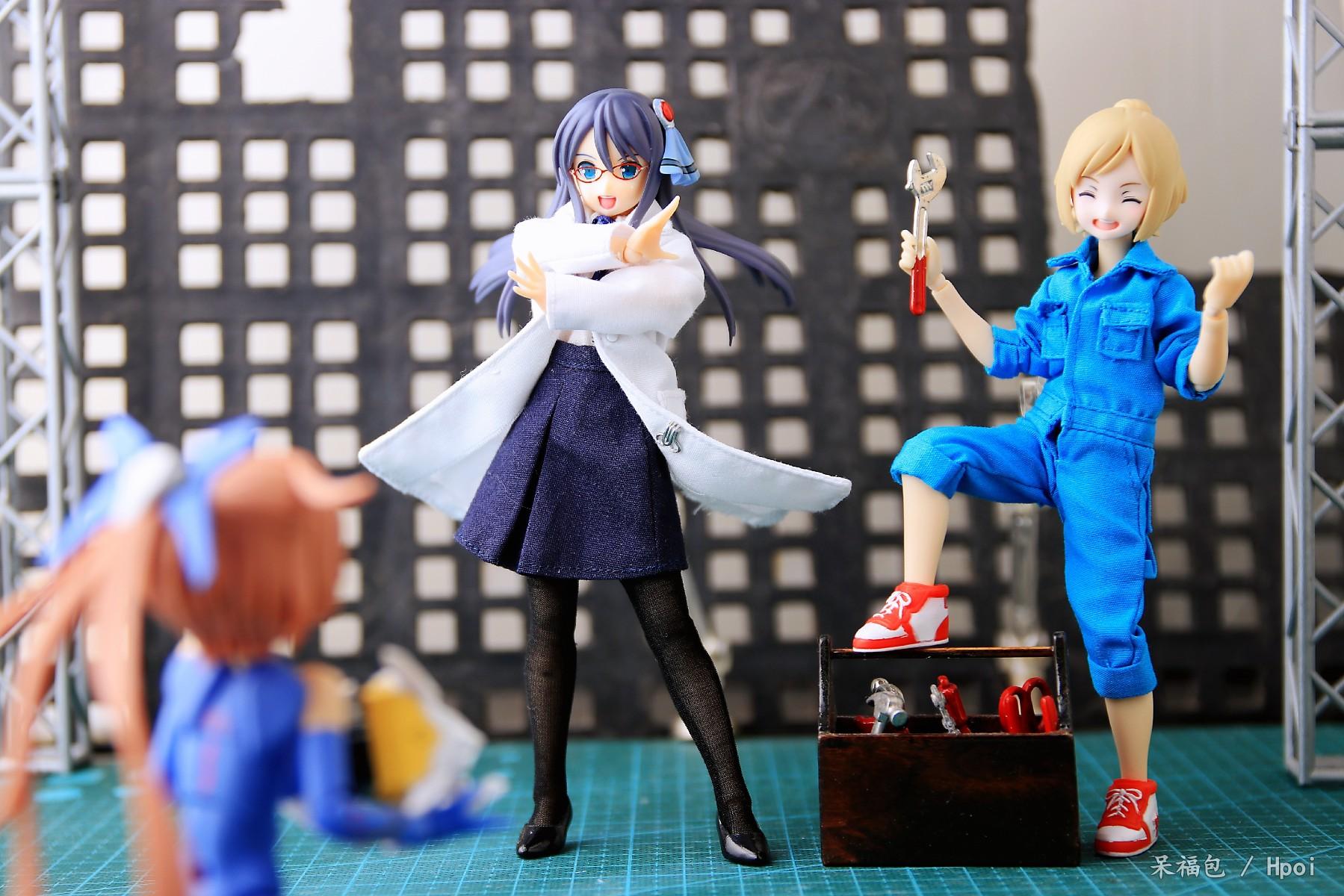 Assault Lily No.034 Majima Moyuki-Garage Kit Dolls