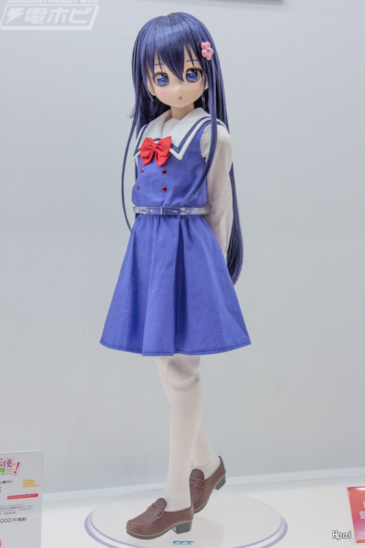Another Realistic Characters Angel came to me! White Saki Flower-Garage Kit Dolls