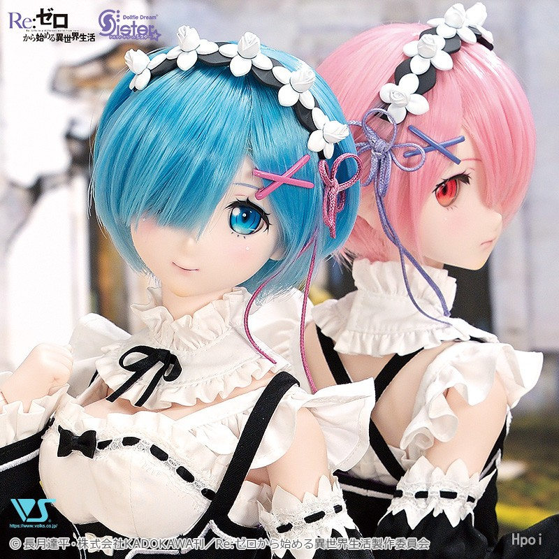 Dollfie Dream Sister Re: Life in another world from scratch Ram-Garage Kit Dolls