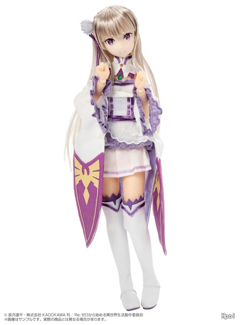 PureNeemo Re: Life in a different world from scratch OVA Emilia-Garage Kit Dolls