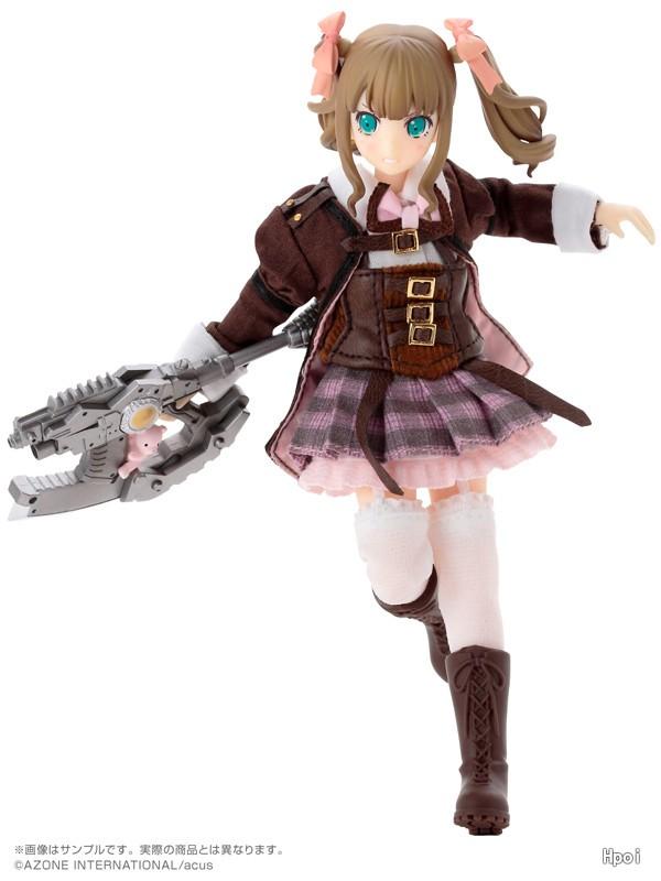 Assault Lily Gaiden No.038 Narumi・Kurara・Yuko ver.-Garage Kit Dolls