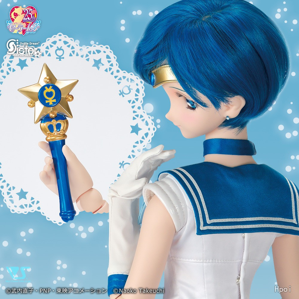Dollfie Dream Sister Sailor Moon Sailor Mercury Ami Mizuno-Garage Kit Dolls