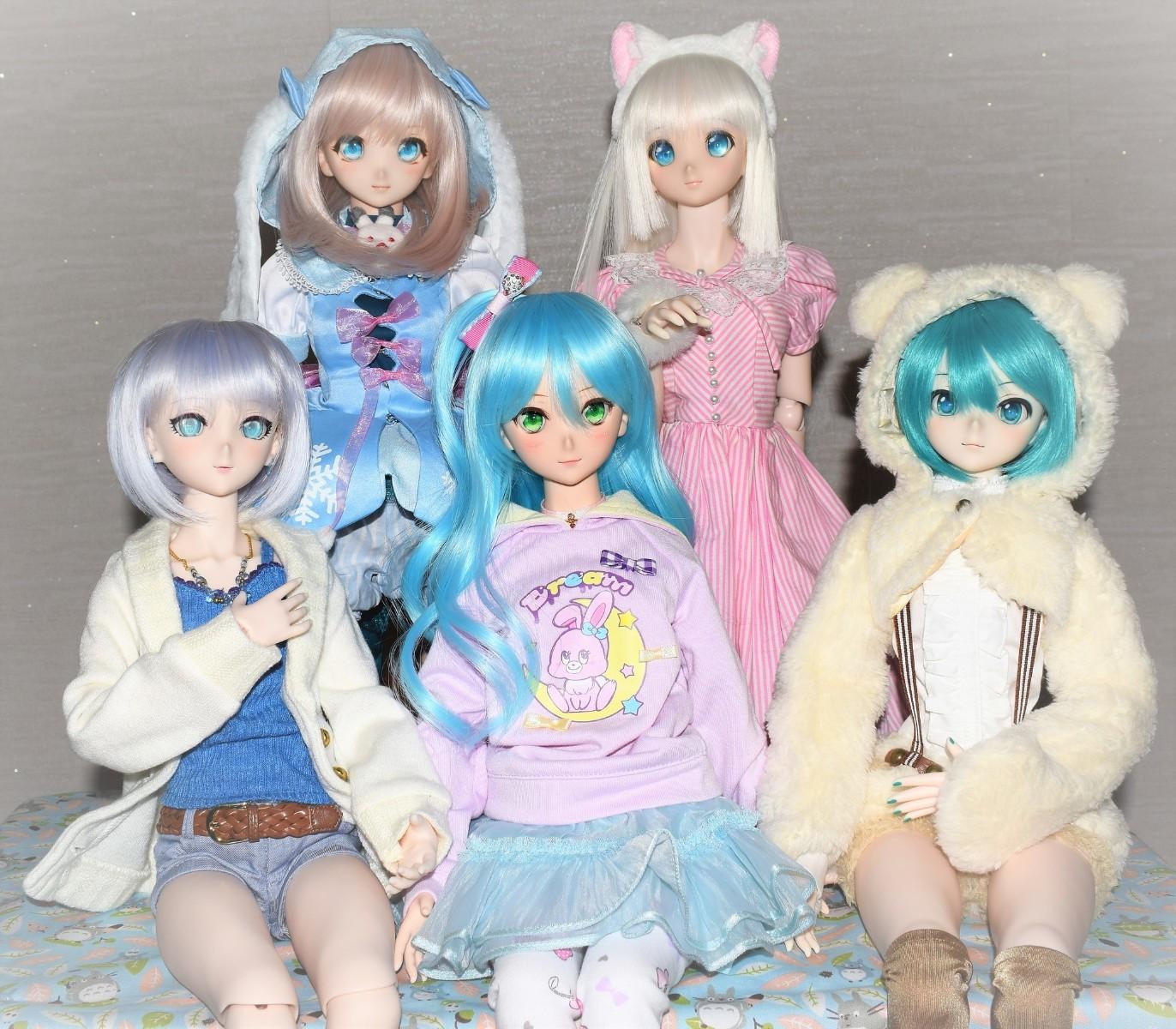 Dollfie Dream The Idolmaster Cinderella Girl Anastasia-Garage Kit Dolls