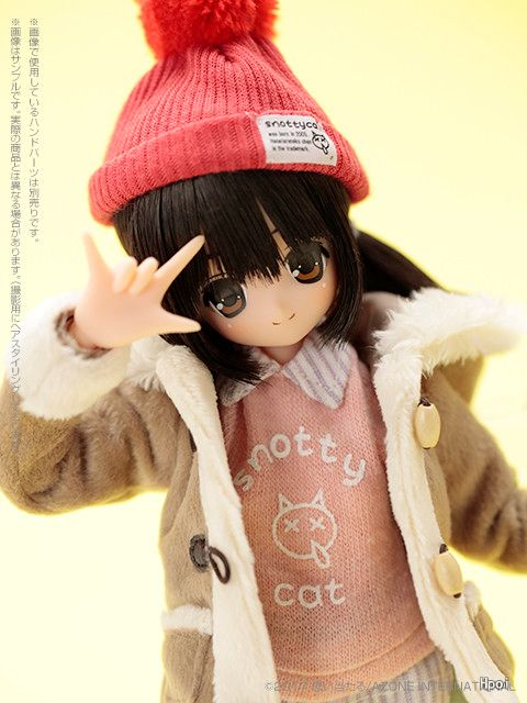 PureNeemo Snotty Cat Ⅳ-Garage Kit Dolls