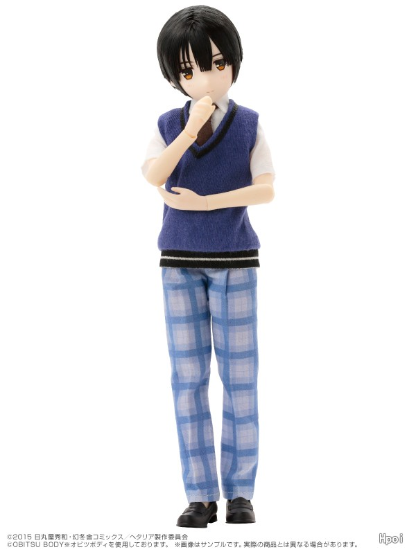Asterisk Collection Series #4 Hetalia The World Twinkle Japan W Gakuen Uniform ver.-Garage Kit Dolls