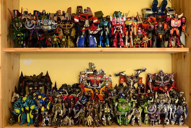 Transformers collection value judgment-Garage Kit Dolls