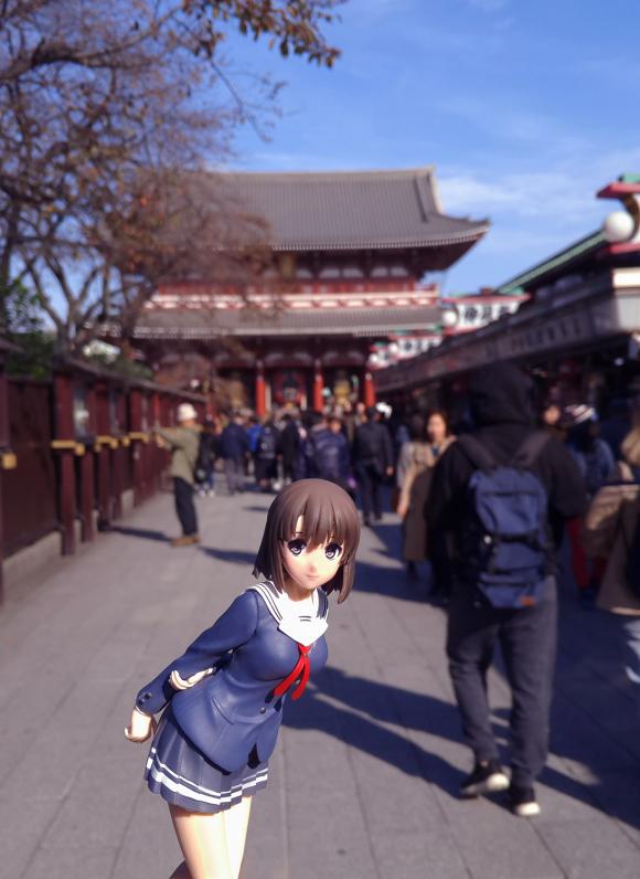 Megumi Kato Japanese Street Shooting-Garage Kit Dolls