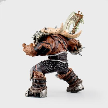 The weight surprises,Original package WOW Orc Warrior Garrosh Hellscream Action Figure Premium Series 3 Garrosh Hellscream Doll Toy-Garage Kit Dolls